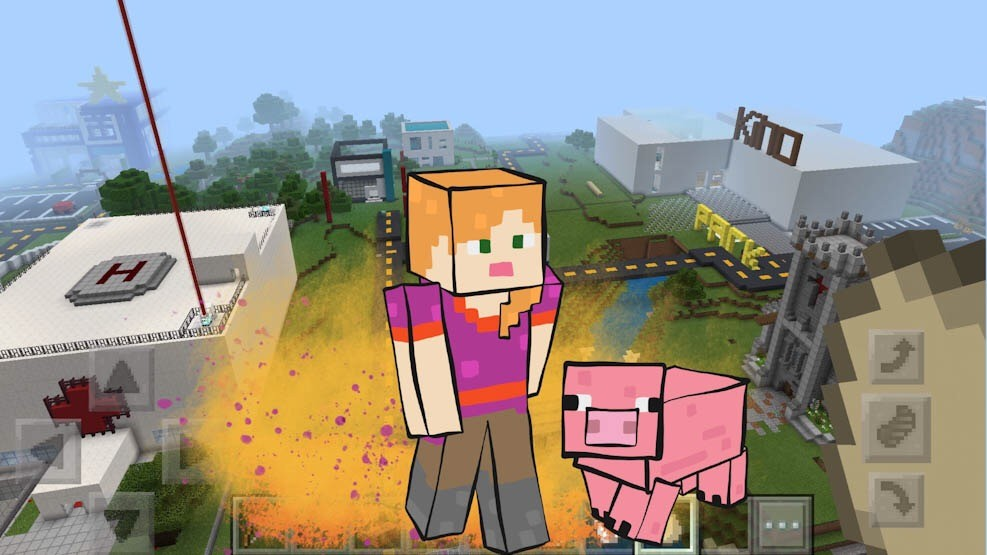 Kreasjon lanserer Minecraft E-Læring for lærere i aug 2020