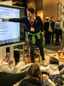 Martin Næsgård med stø hånd på Minecraft og vikinger.