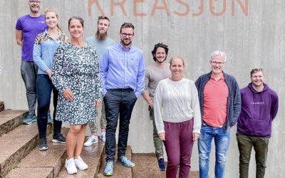 Kreasjon møter høsten med 6 nye medarbeidere